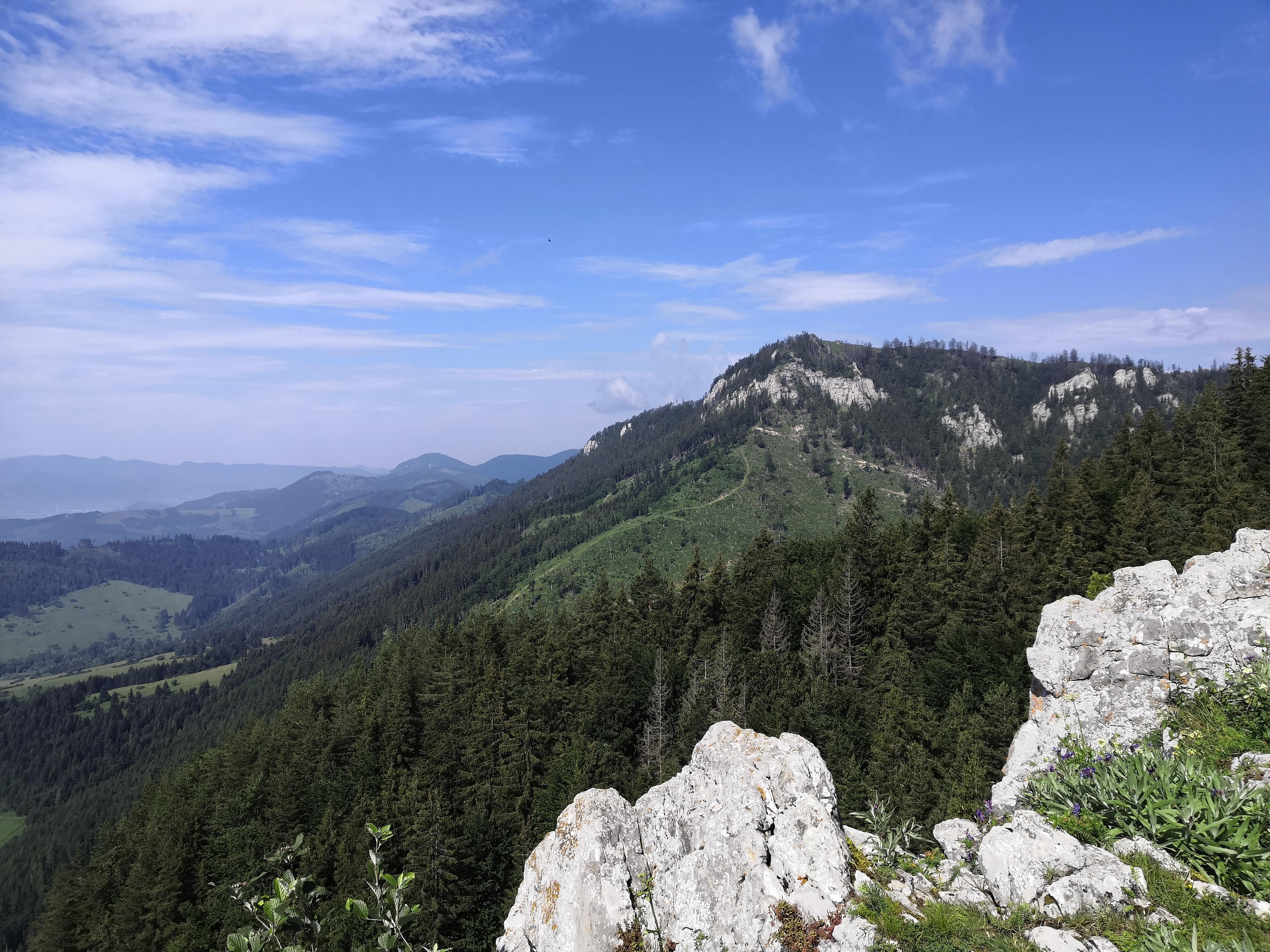Výhľad z Čerenovej skaly
