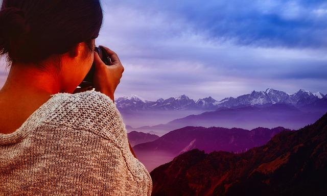 fotografování hory